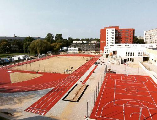 Riia Turismi Tehnikumi staadion ja palliplatsid (2020)