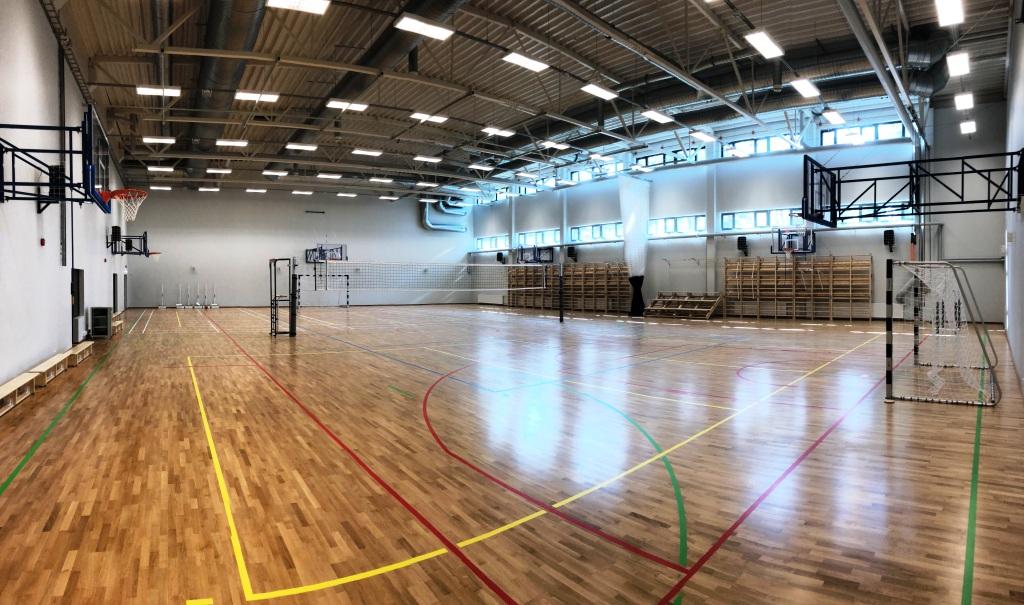 Pääsküla Gümnaasiumi spordisaal (2018)