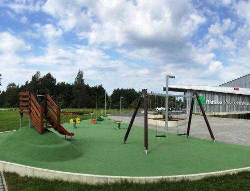 Pärnu Ristiku Tervisekeskuse lastemänguväljak (2019)