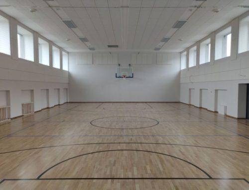 Viljandi Paalalinna kooli spordisaal (2019)