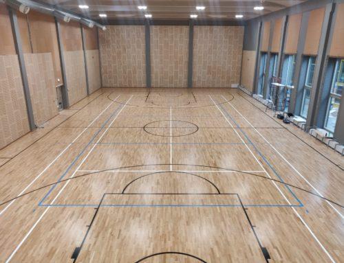 Paide Põhikooli spordisaal (2019)