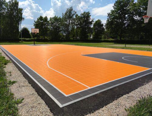 Tsirguliina Kooli korvpalliväljak 2021