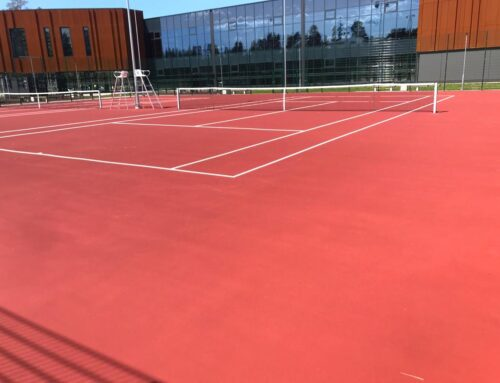 Asaži treeninkeskuse tenniseväljakud (2020)
