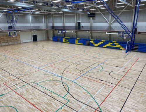 Elva Spordihoone pallimängudesaal (2020)