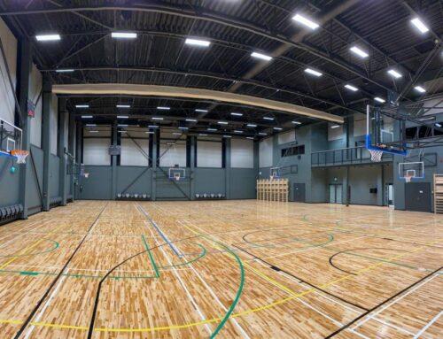 Kindluse Kooli spordihoone pallimängudesaal (2021)