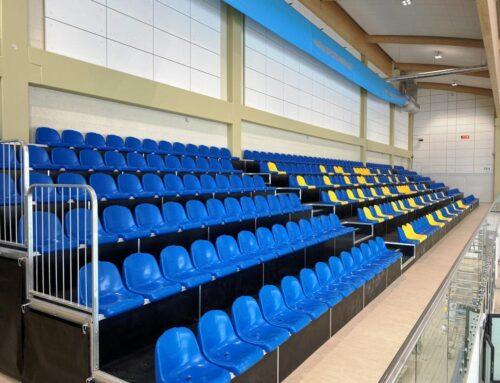 Kohtla-Järve Spordi ja Tervisekeskuse ujula tribüün (2021)