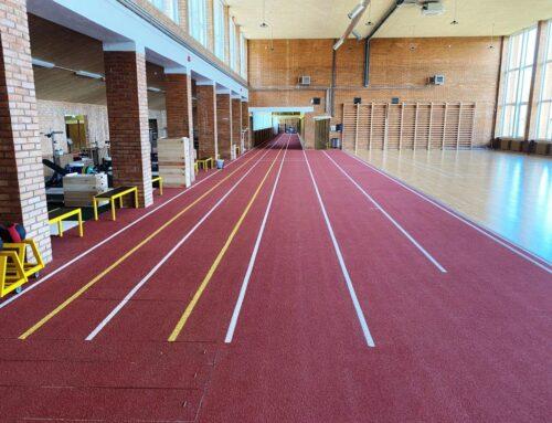 Kääriku vana spordihoone jooksusirge 2021