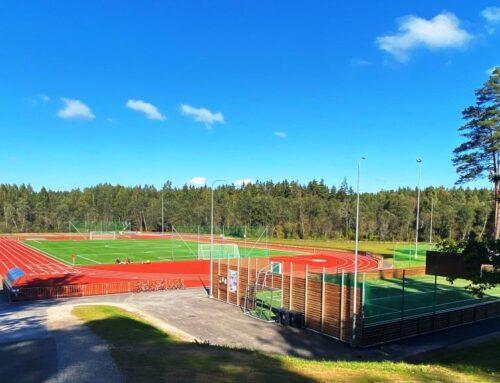 Tõrva staadioni jalgpalliväljak 2021